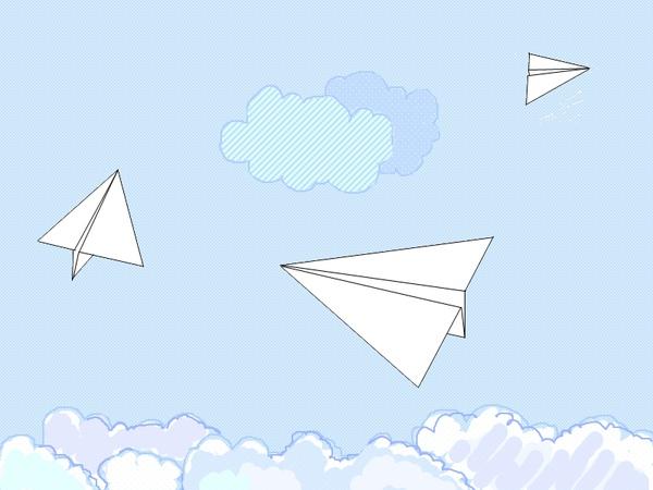 小小手工- 紙飛機